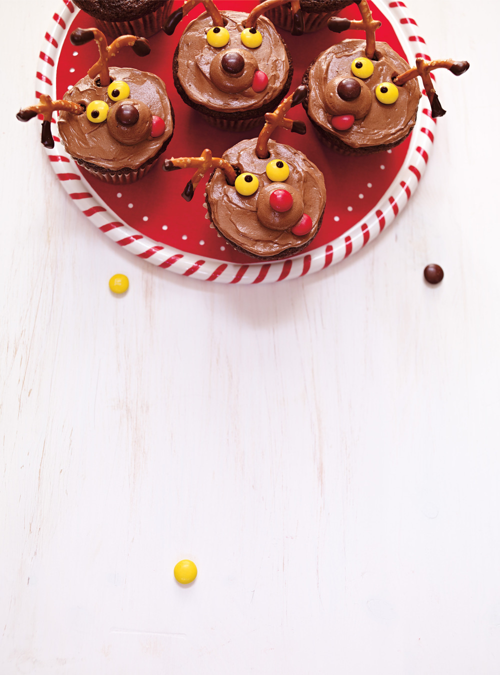 Cupcakes rennes au chocolat | ricardo