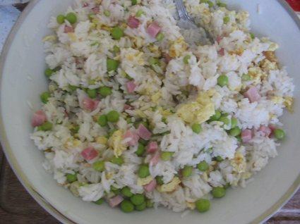Recette de riz cantonais tout simple