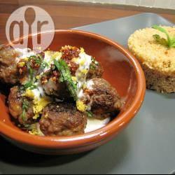 Recette boulettes d'agneau aux épices marocaines – toutes les ...