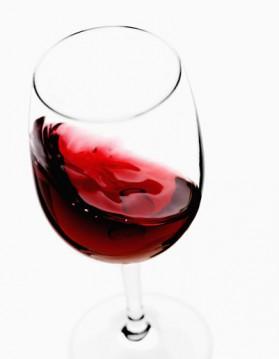 Risotto au vin rouge et aux petits lardons