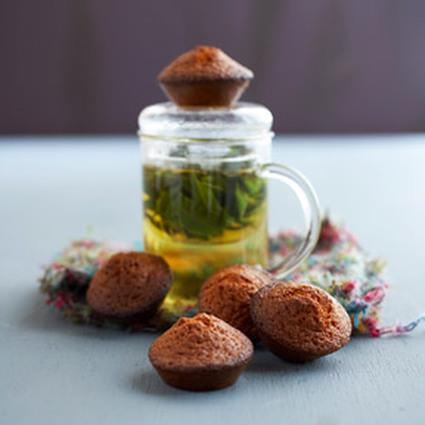 Recette de madeleines au miel et amandes