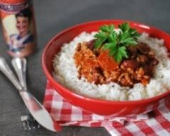 Recette chili con carne au chorizo