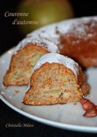 Recette de gâteau aux pommes, carotte, farine de châtaigne et miel ...