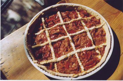 Recette de tarte aux poivrons