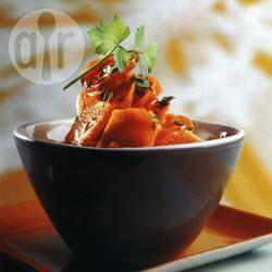 Recette carottes glacées aux cinq épices – toutes les recettes ...