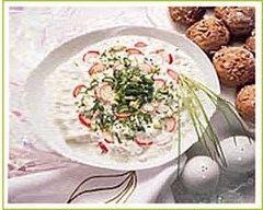 Recette soupe de radis au fromage blanc