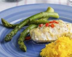Recette filets de tilapia, sauce citronnée au yogourt