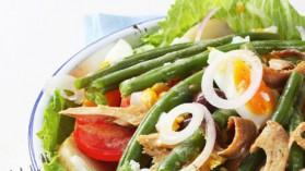 Salade provençale aux haricots verts pour 6 personnes