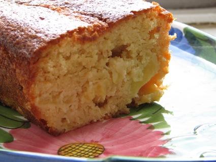 Recette de cake à l'ananas