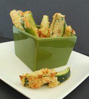 Recette de frites de courgettes et parmesan au four