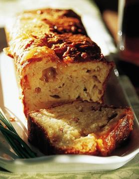 Cake du presbytère aux fromages pour 8 personnes