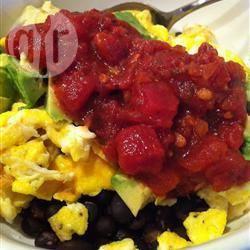 Recette œufs brouillés à la mexicaine – toutes les recettes allrecipes