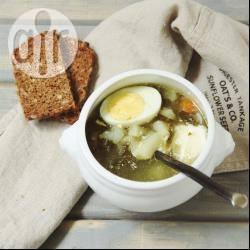 Recette soupe russe à l'oseille – toutes les recettes allrecipes