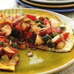 Recette omelette à l'espagnole – toutes les recettes allrecipes