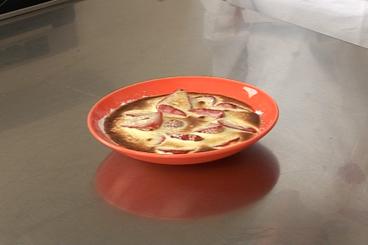 Recette de gratin de fraises et sabayon au kirsch facile et rapide