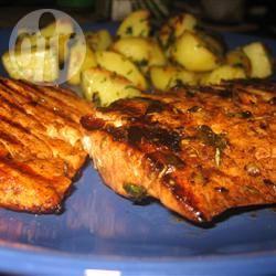 Recette saumon grillé au balsamique et au romarin – toutes les ...