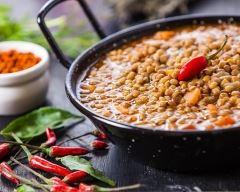 Recette légumes et lentilles façon indienne