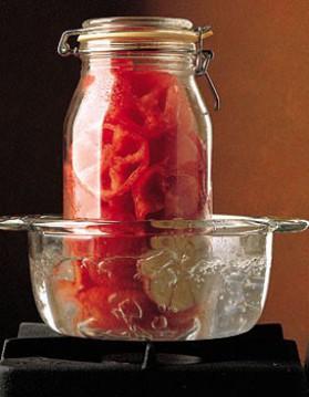 Conserve de sauce tomate pour 4 personnes