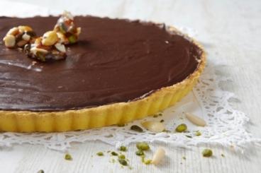 recette tarte pralin e aux abricots secs recette. Black Bedroom Furniture Sets. Home Design Ideas