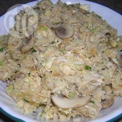 Recette riz cantonnais au poulet et aux champignons – toutes les ...
