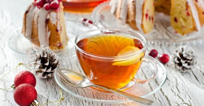 Recette de thé aux cranberries et gingembre