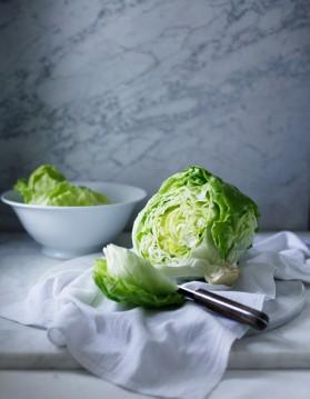 Salade à la pimprenelle pour 4 personnes