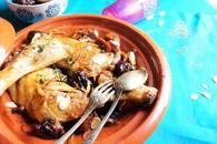 Recette de tajine de poulet aux figues et pruneaux facile et rapide ...