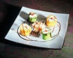 Recette sushis de riz de camargue aux légumes et tourteaux