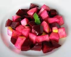 Recette salade de betteraves et pommes vertes