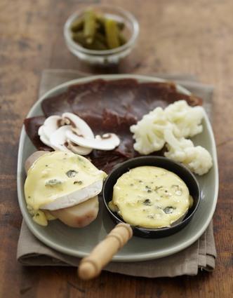 Recette de raclette bressane au bresse bleu