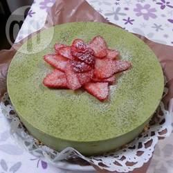 Recette cheesecake au thé vert (matcha) – toutes les recettes ...