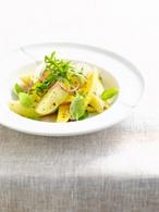 Recette de salade estivale de pommes de terre primeurs à la mangue
