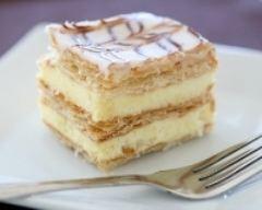 Recette millefeuille classique à la vanille