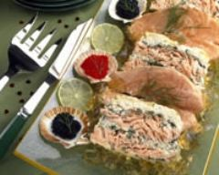 Recette terrine lotte-saumon