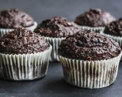 Recette muffins au chocolat, noix de coco et vanille