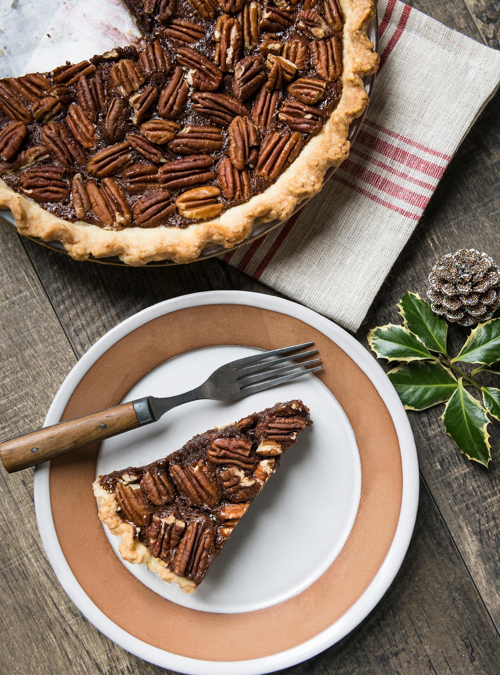 Tarte aux pacanes et au chocolat | ricardo
