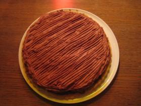 Gâteau chocolat feuillantine pour 8 personnes