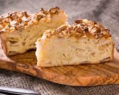 Recette gâteau moelleux pomme, canelle et crème fraîche