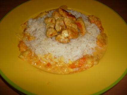 Recette de poulet coco riz basmati