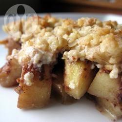Recette crumble pommes poires et nutella™ – toutes les recettes ...