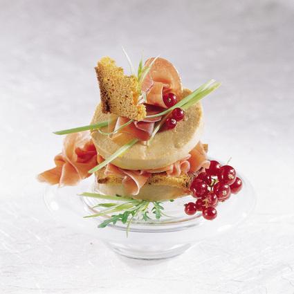 Recette de millefeuille mille saveurs au foie gras