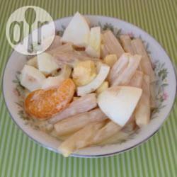 Recette salade d'asperges aux mandarines et œufs durs – toutes ...