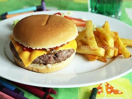 Recette de cheeseburger façon mcdo®