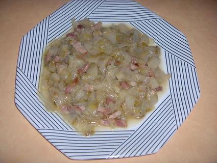 Recette de fondue d'endives aux lardons