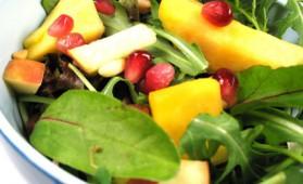 Salade aux fruits exotiques pour 4 personnes