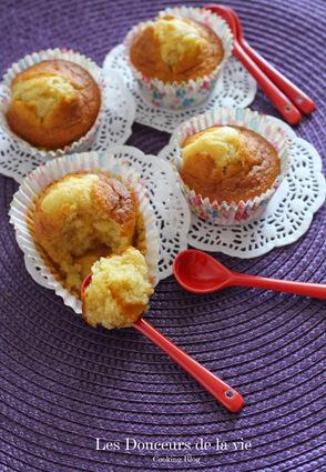 Recette de madeleines fourrées à la confiture d'abricots
