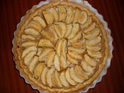 Recette de tarte normande aux pommes