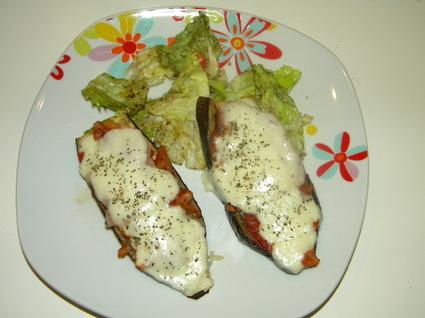 Recette aubergines mozzarella au four