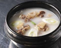 Recette soupe coréenne au boeuf et riz