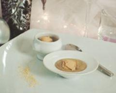 Recette cappuccino de lentilles au foie gras